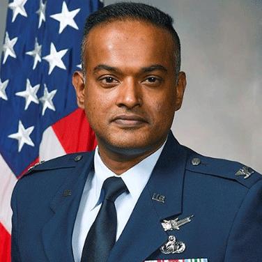 Col John Kurian, USAF, Senior Materiel Leader, Simulators Division